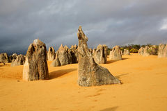 Pinnacles Desert Stock Photo