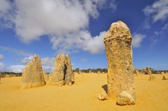 The Pinnacles Desert Royalty Free Stock Image