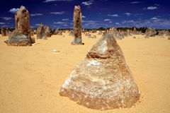 Pinnacles Desert Stock Image