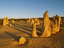 Pinnacles desert Royalty Free Stock Photo