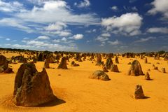 Pinnacles Desert, Australia Stock Photo