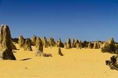 Pinnacles Desert Australia Royalty Free Stock Images