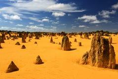 Pinnacles Desert, Australia royalty free stock images