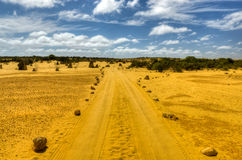 Pinnacles Desert, Australia Royalty Free Stock Photography