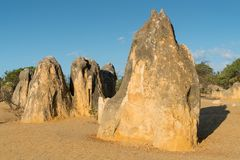 Nambung National Park, Western Australia Stock Image