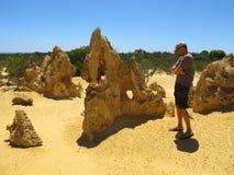 Pinnacles Desert, Nambung National Park, West Australia Royalty Free Stock Images