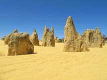 Pinnacles Desert, Nambung National Park, West Australia Stock Photos