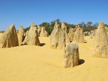 Pinnacles Desert, Nambung National Park, West Australia Stock Photography
