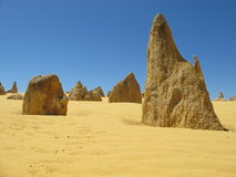 Pinnacles Desert, Nambung National Park, West Australia Stock Photography