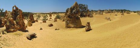 Pinnacles Desert, Nambung National Park, West Australia Stock Images
