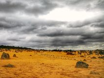 Pinnacles Desert National Park, Western Australia Royalty Free Stock Image