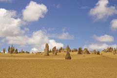 The Pinnacles Desert near Perth Stock Image