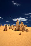 Pinnacles Desert,West Australia Royalty Free Stock Images
