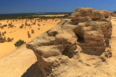 Pinnacles Desert,Western Australia Royalty Free Stock Photography
