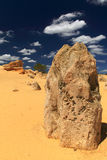 Pinnacles Desert,Western Australia Royalty Free Stock Photo