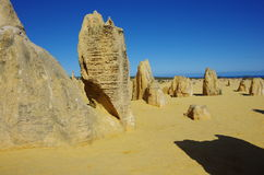 The pinnacles Royalty Free Stock Photography