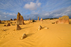 The Pinnacles desert in Western Australia Stock Photography