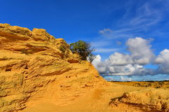 The Pinnacles Dessert famous for its limestone rock formations Stock Photo