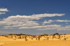 Pinnacles Landscape Stock Image