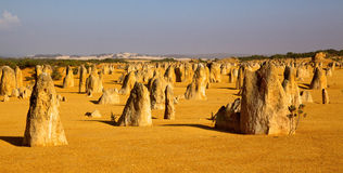 The Pinnacles Royalty Free Stock Photos