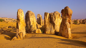The Pinnacles Stock Photo