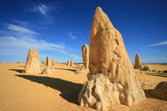 The Pinnacles, Nambung National Park Royalty Free Stock Image