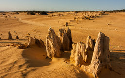 Pinnacles Royalty Free Stock Photo