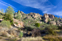 Pinnacles National Monument in California, USA Royalty Free Stock Photos