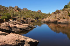 Pinnacles National Park Bear Gulch Reservoir royalty free stock photography