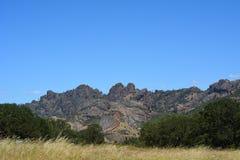 Pinnacles national park high peaks Stock Image