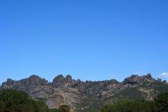 Pinnacles national park high peaks Royalty Free Stock Image
