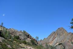 Pinnacles national park machete Ridge Stock Image