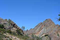Pinnacles national park machete Ridge Royalty Free Stock Images