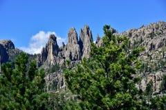 Pinnacles at Custer State Park, South Dakota stock images