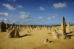 Pinnacles. A spectacular limestone formation at the scenic Pinnacles, Australia Stock Photo