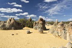 The Pinnacles Stock Image