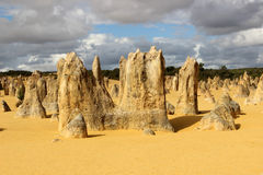 The Pinnacles WA Royalty Free Stock Photo