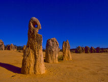 The Pinnacles in Western Australia Stock Photos
