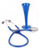Pinnard & stethoscope Royalty Free Stock Image