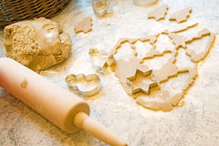 Pinned out cakes Royalty Free Stock Images