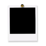 Pinned polaroid film royalty free stock photo