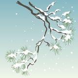 Pino-árbol stock de ilustración