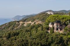 Pino, Corse Haute, capo Corse, Corsica, Corsica superiore, Francia, Europa, isola Fotografia Stock
