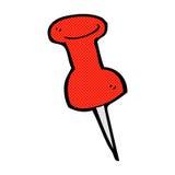 pino de desenho cômico dos desenhos animados Foto de Stock Royalty Free