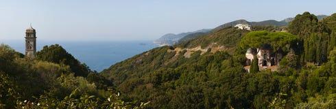 Pino, Haute Corse, накидка Corse, Корсика, верхняя Корсика, Франция, Европа, остров Стоковая Фотография