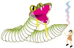 pinocchio дракона Стоковые Изображения