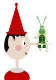 Pinocchio ilustração do vetor