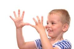 Pinocchio. Boy Pinocchio Stock Photo