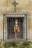 Pinocchio Arrested Royalty Free Stock Photos