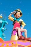 Pinocchio at Disney's Magic Kingdom Stock Image